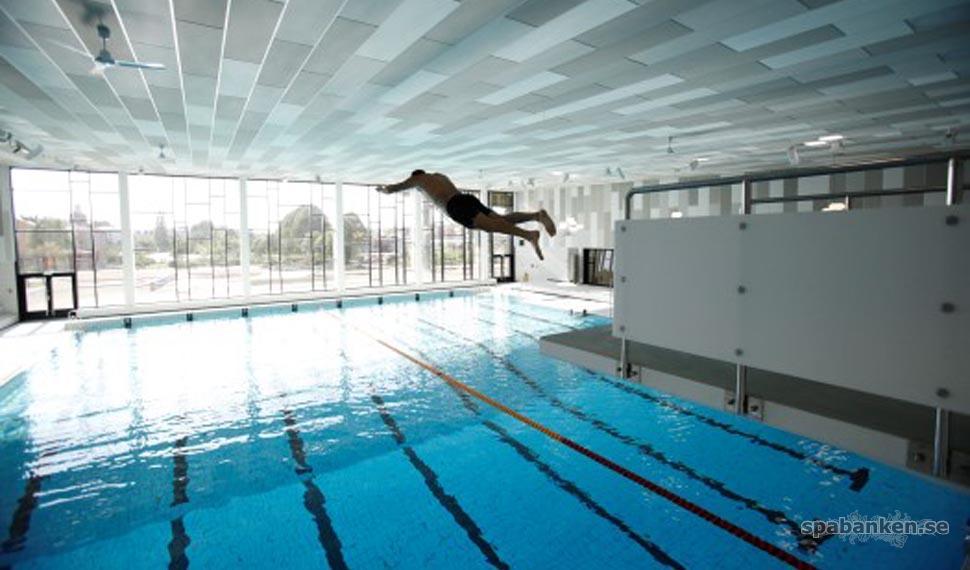Nytt badhus i Ystad Arena