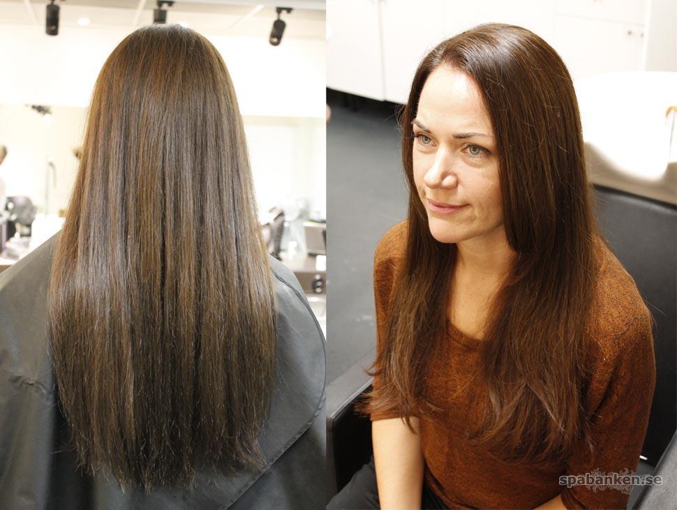 shampoo tjockare hår