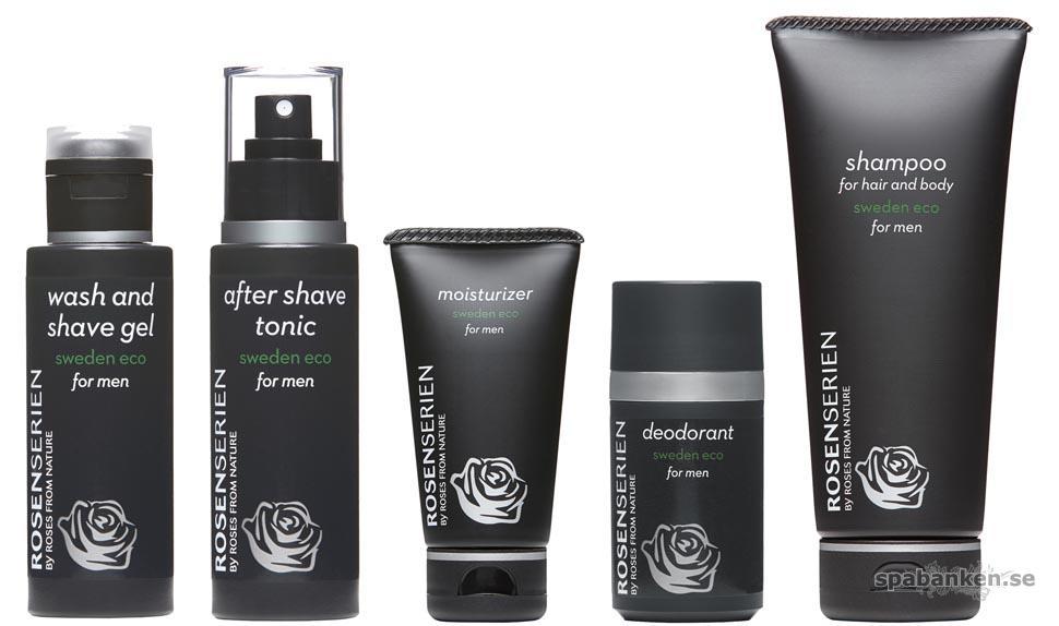 Produkttest: Shampoo for Hair and Body for Men/Rosenserien