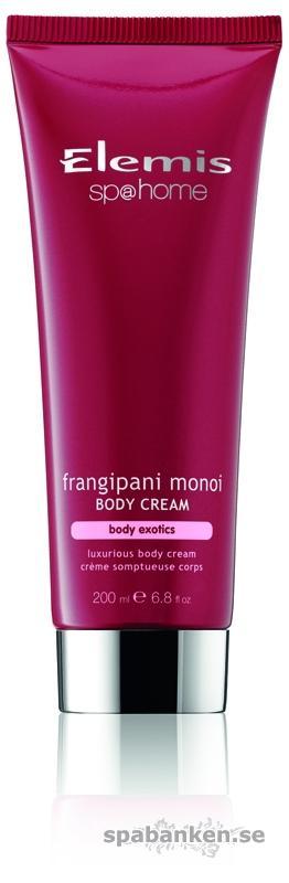 Frangipani Monoi Body Cream. Product Image. JPEG.