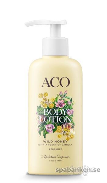 Produkttest: ACO Sense & Care, Body Lotion Wild Honey
