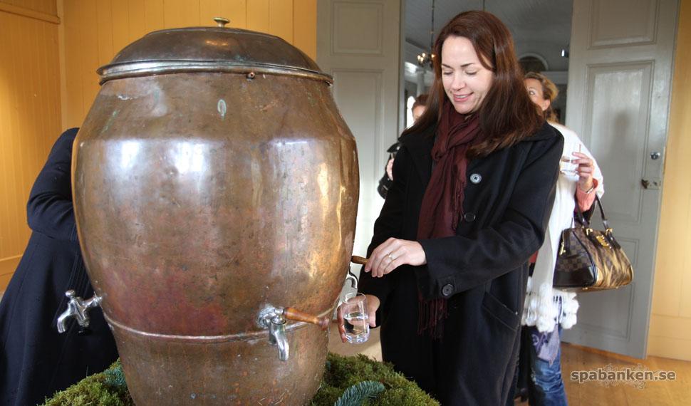 Dricka brunn i Loka, eller Serbien