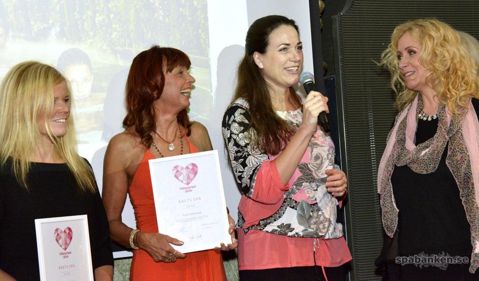 Hälsopriset 2016 och vinnaren av årets spa