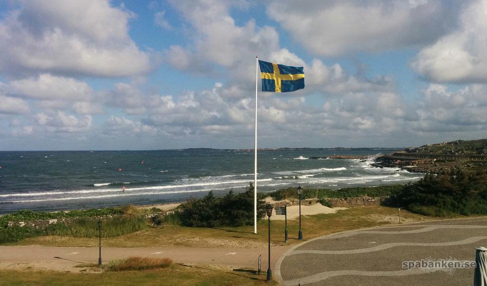 Ett rum mot havet på Varbergs Kusthotell