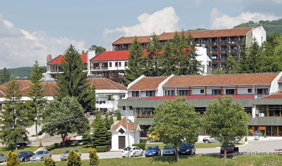 Incheckning på Prolom Banja