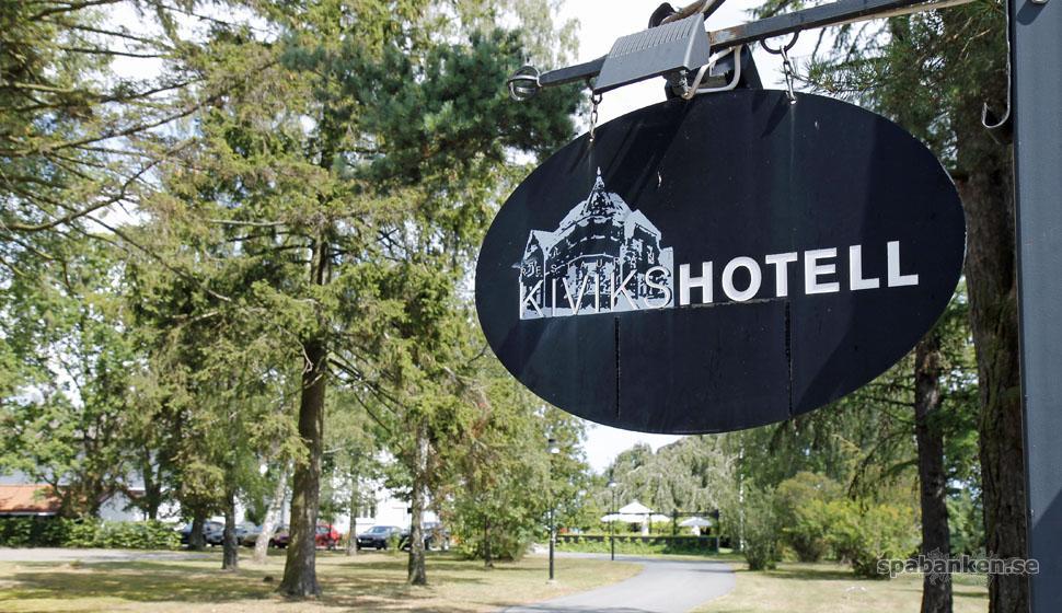 Sommarens smultronställe med spa: Kiviks Hotell