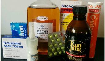 Från förkylning till allergi och vårsol