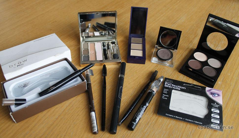 Tester: Ögonbrynsprodukter för statement brows