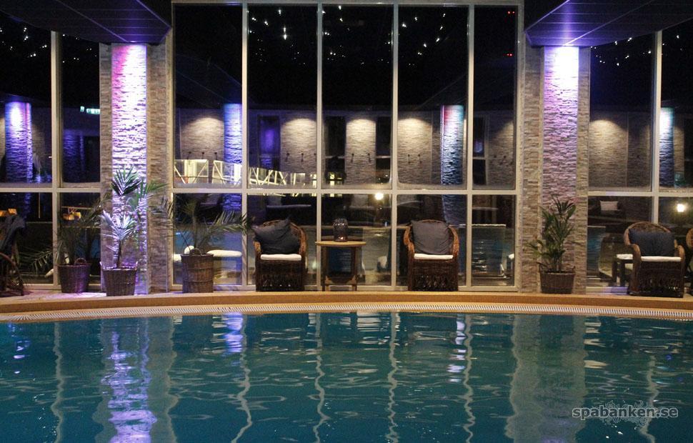 Havsbadens spa; en smaragdskimrande wellness-oas