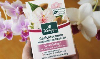 Ansiktskräm med mandelblom från Kneipp