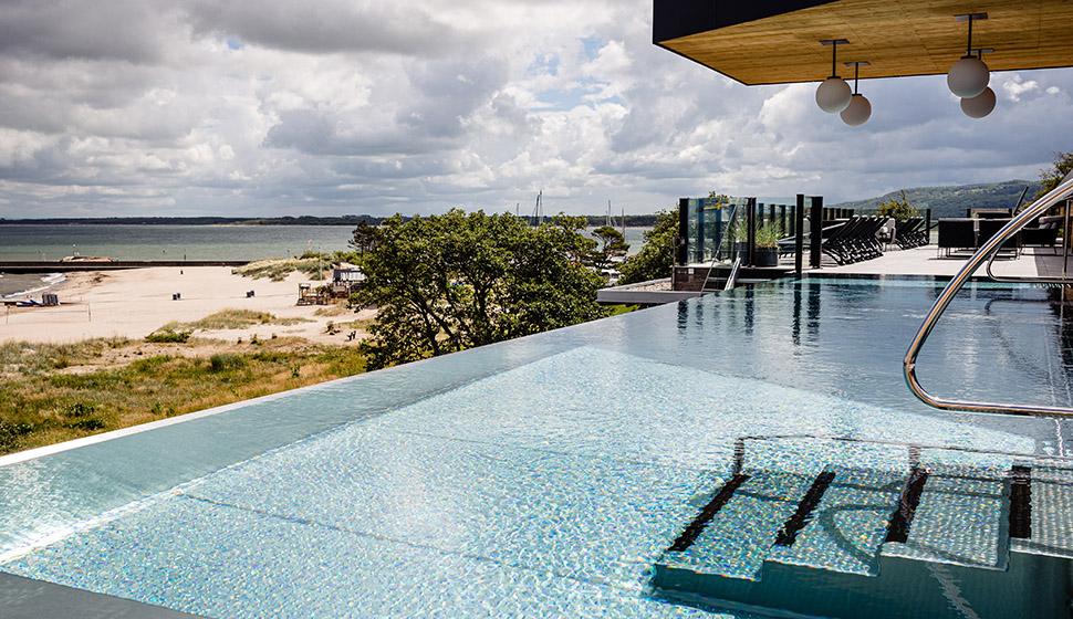 Nyhet på Hotel Skansen; rooftop spa