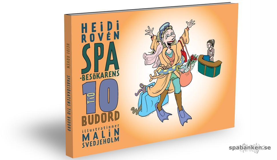 "Omslaget till nya boken ""Spabesökarens 10 budord"""