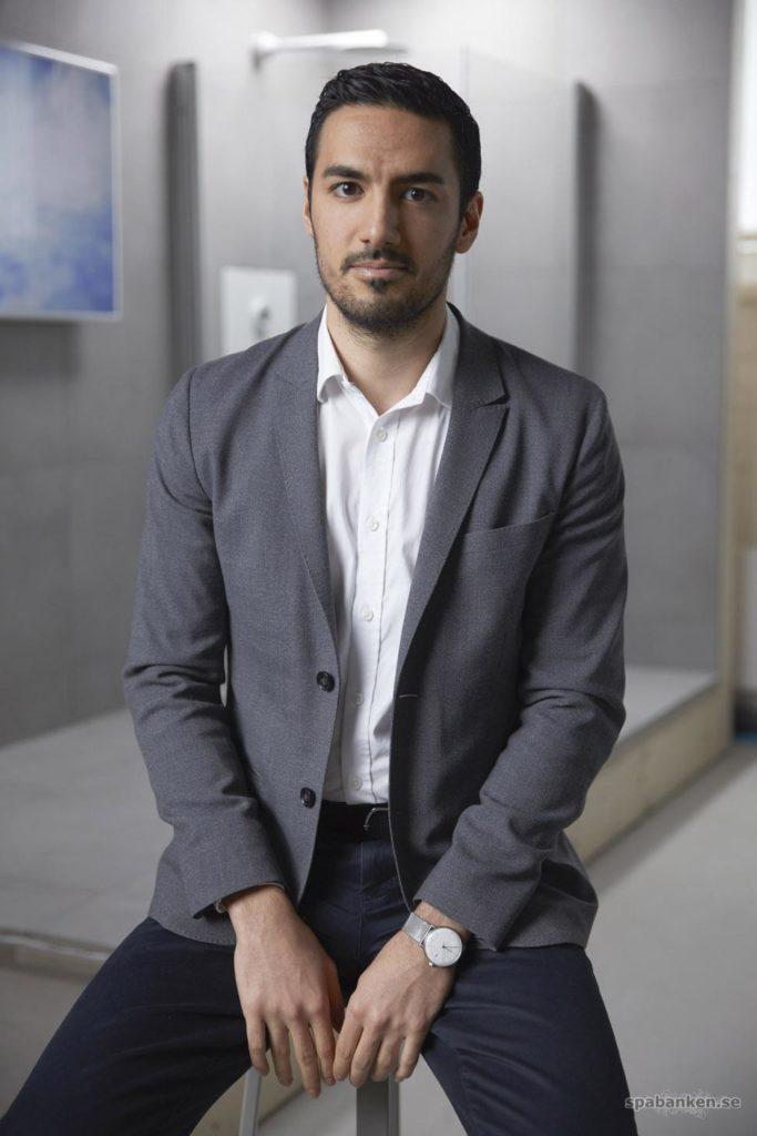 Mehrdad Mahdjoubi, den flerfaldigt prisbelönade grundaren av Orbital Systems.