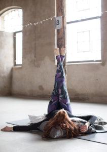 raw yoga girl