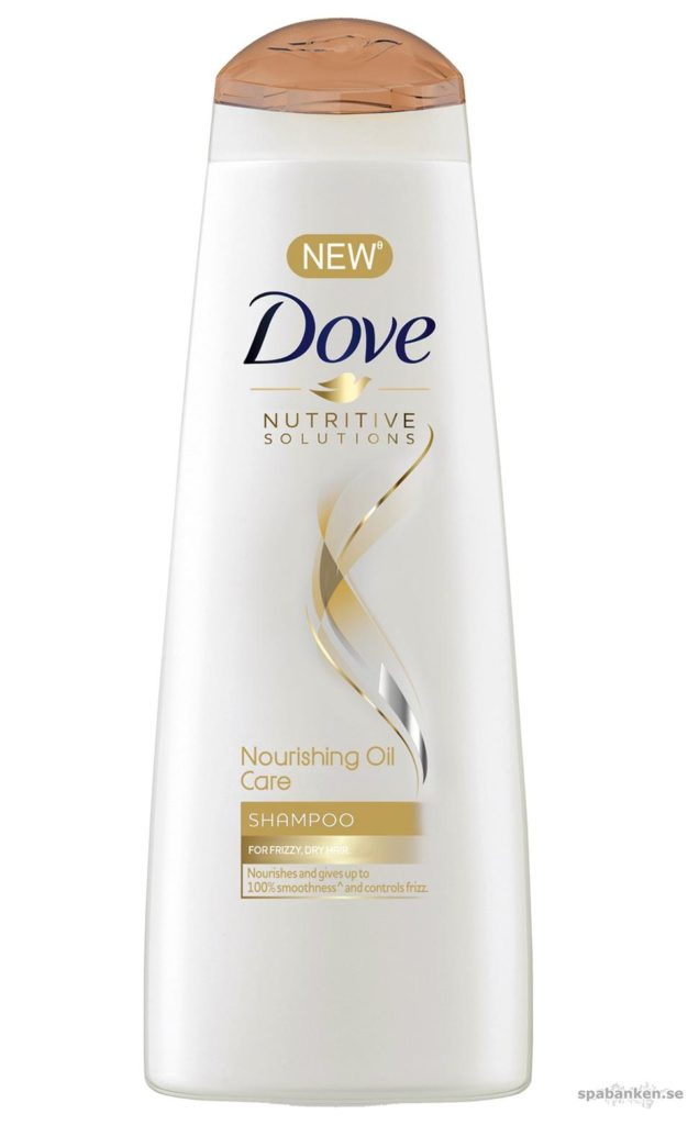 Produkttest: Nourishing Oil Care Shampoo från Dove