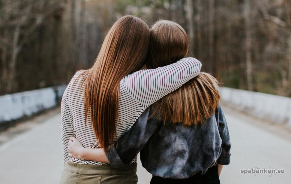 Vi mår bra av kramar