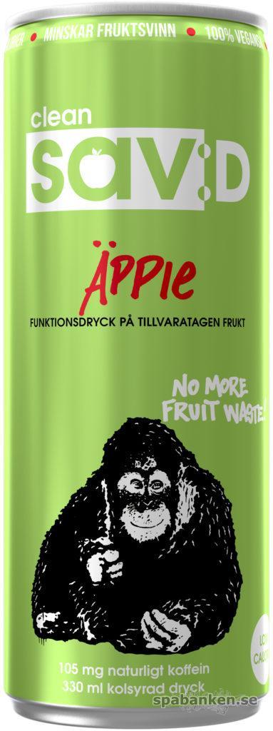 """Clean Sav:D är en dryck på äppelmust av """"räddad frukt"""", vilket minskar fruktsvinnet."""