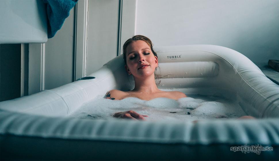 Det uppblåsbara badkaret Tubble.