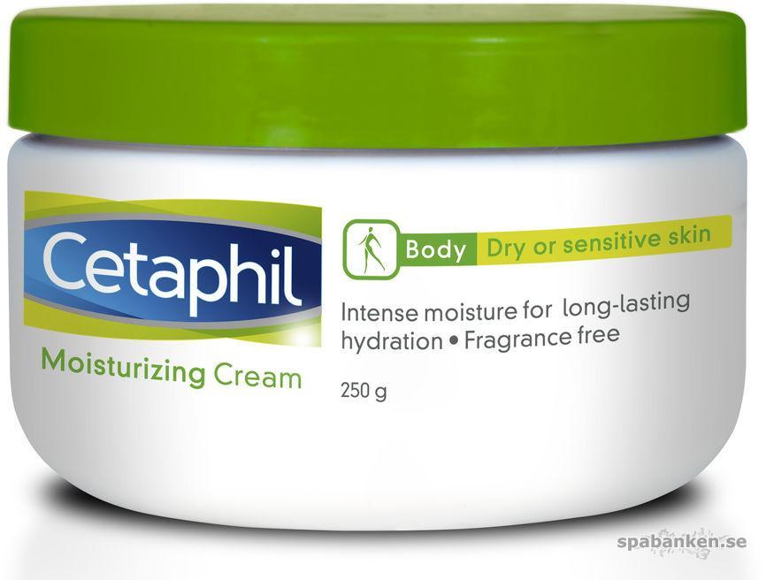 Cetaphil moisturizing cream.