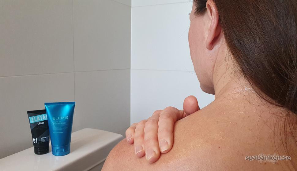 Uppfriskande för trötta muskler – test av två balm