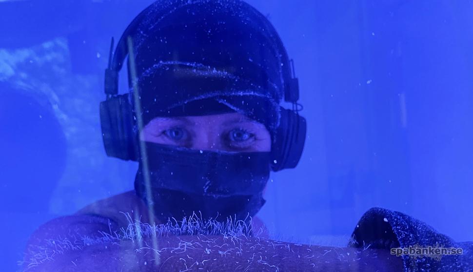 Ny isbastu-studio med kryoterapi i Nya Hovås