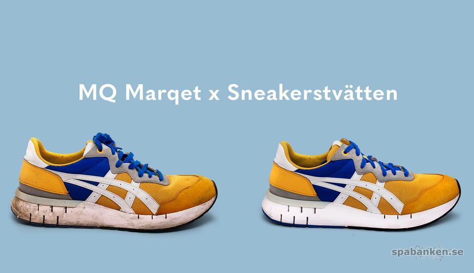 MQ Marqet ger skor nytt liv med Sneakerstvätten