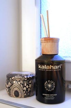 """Kalahari – perfekt för att skapa """"hemmaspakänsla""""."""