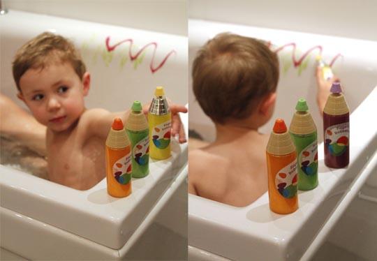 Badprodukter för barn – fingerfärgstvål